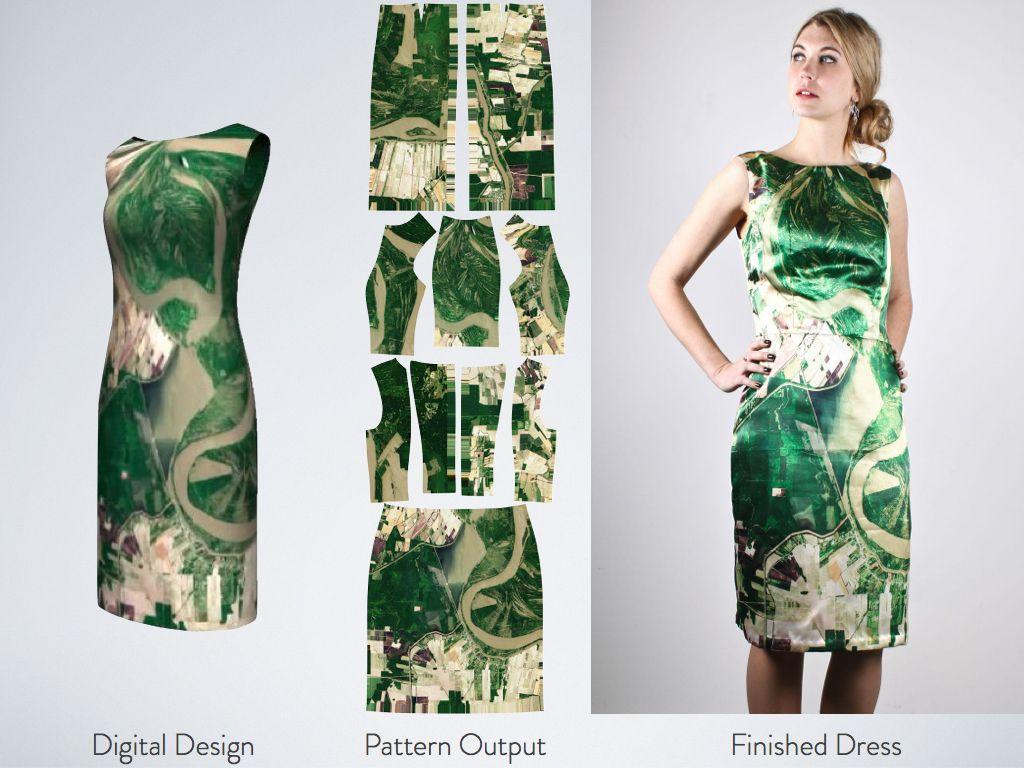 Continuum Fashion : CONSTRVCT 3D printed clothing