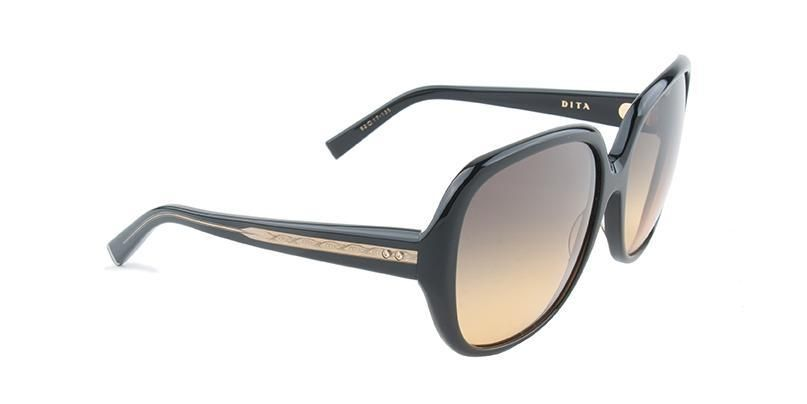 aade989bb361 Dita - Supa-Dupa Black - Green sunglasses