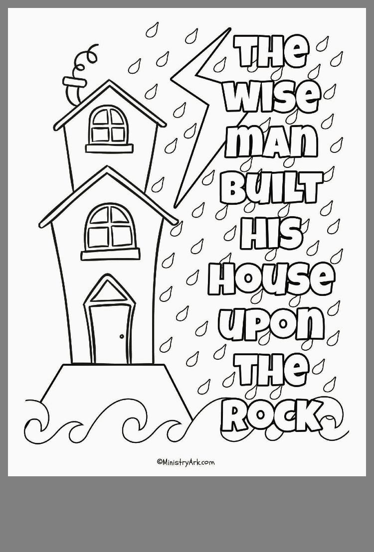Sand His Built Upon House