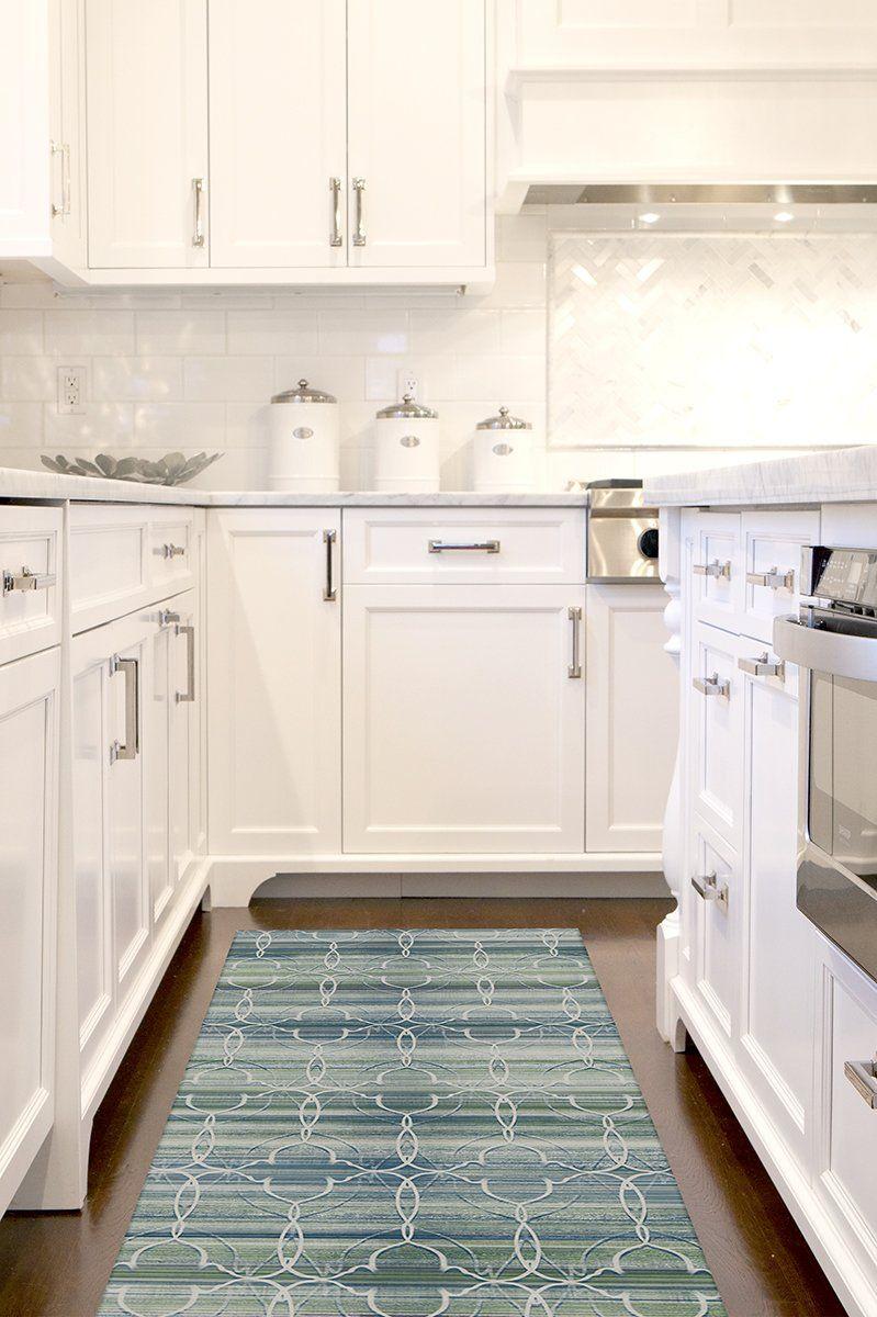 Casablanca Blue Green Rug In 2020 Interior Design Kitchen Small Green Rug Interior Design Kitchen
