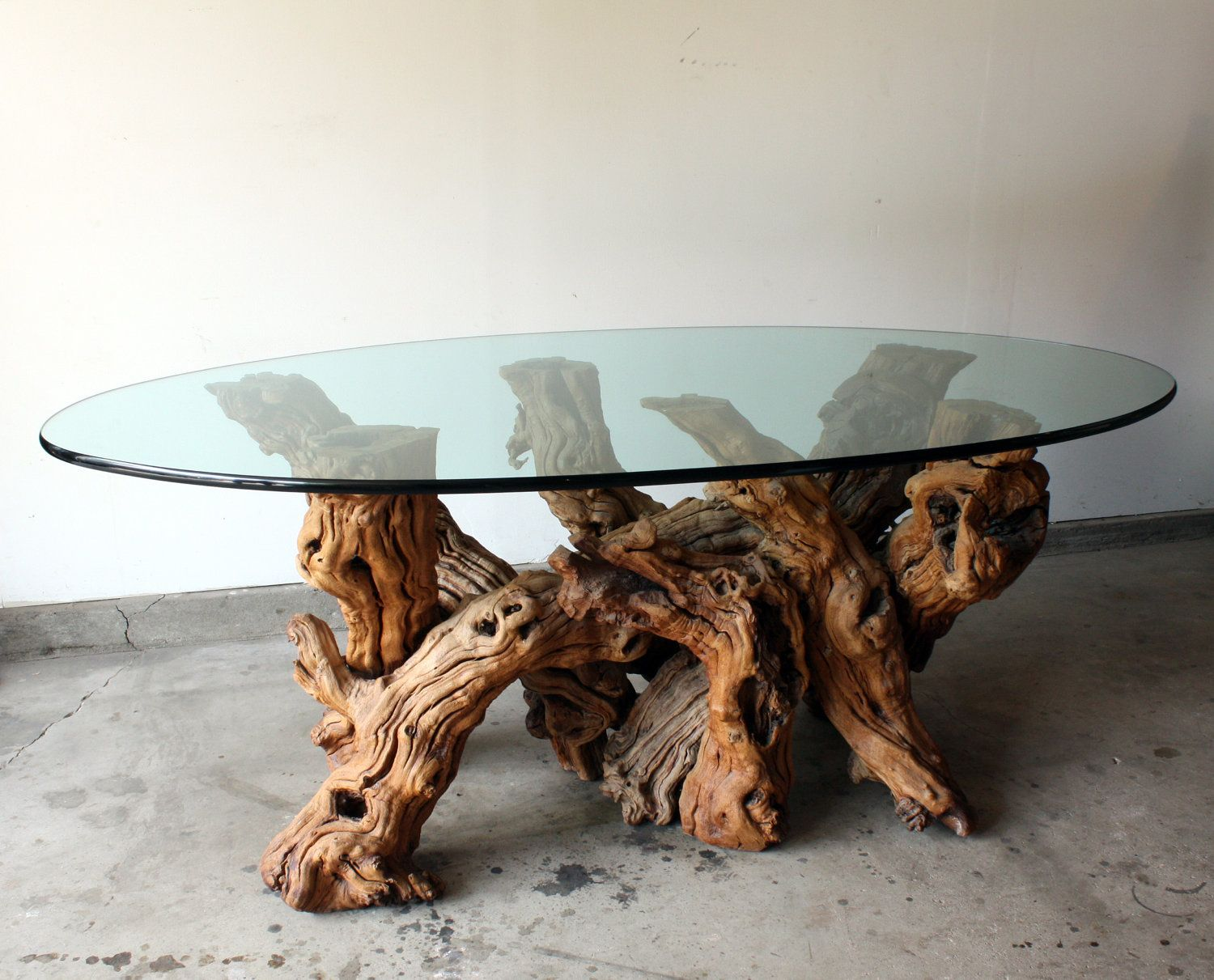 Oval glass dining table designs - Contemporary Oval Glass Dining Tables Collection Incredible Oval Glass Dining Table Inspiration With Trunk Frame For Nature Look Tradition