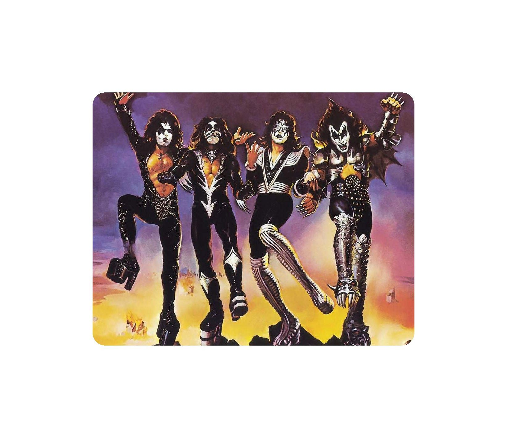 Awesome Music Mouse Pad Kiss (With images) Kiss rock