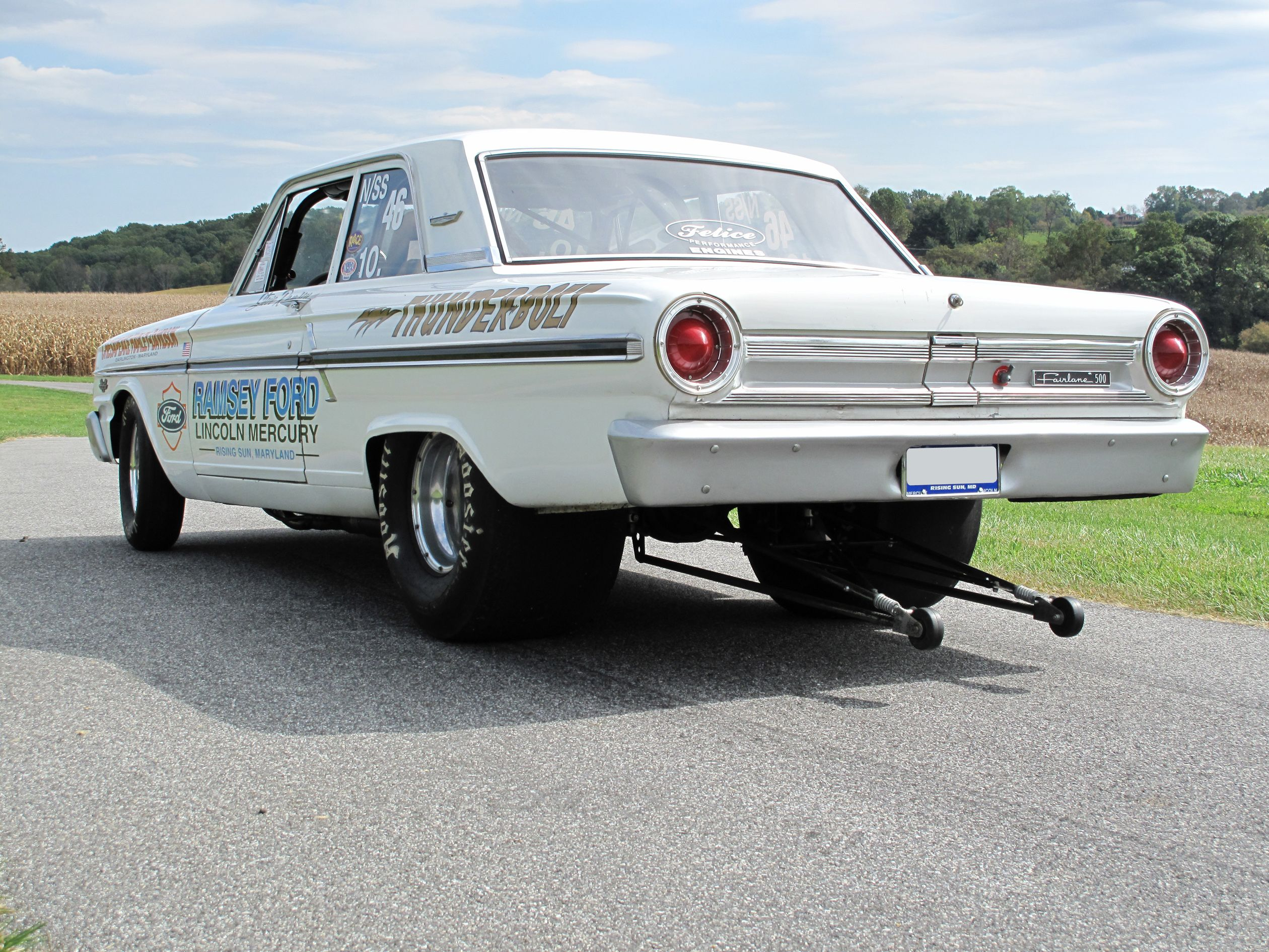Ford thunderbolt 1964 ford thunderbolt re creation