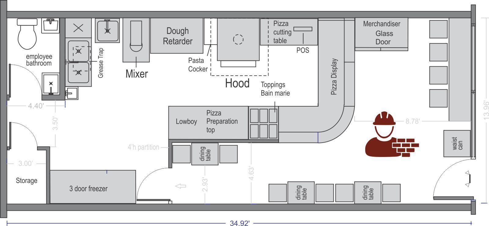Commercial Kitchen Design Layout Commercial Kitchen Design Commercial Kitchen Design Layout Restaurant Floor Plan