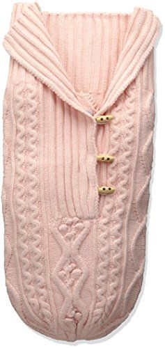 b418794eafb Toby Company Baby Nygb Cable Knit Button Down Snuggle Sack Hint of Pink  Newborn -- To view further for this item