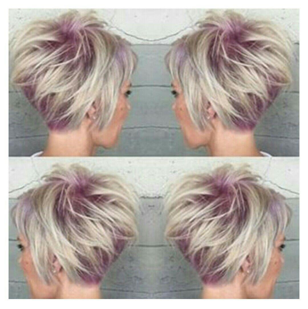 Love this short hair and haircolors pinterest hair style