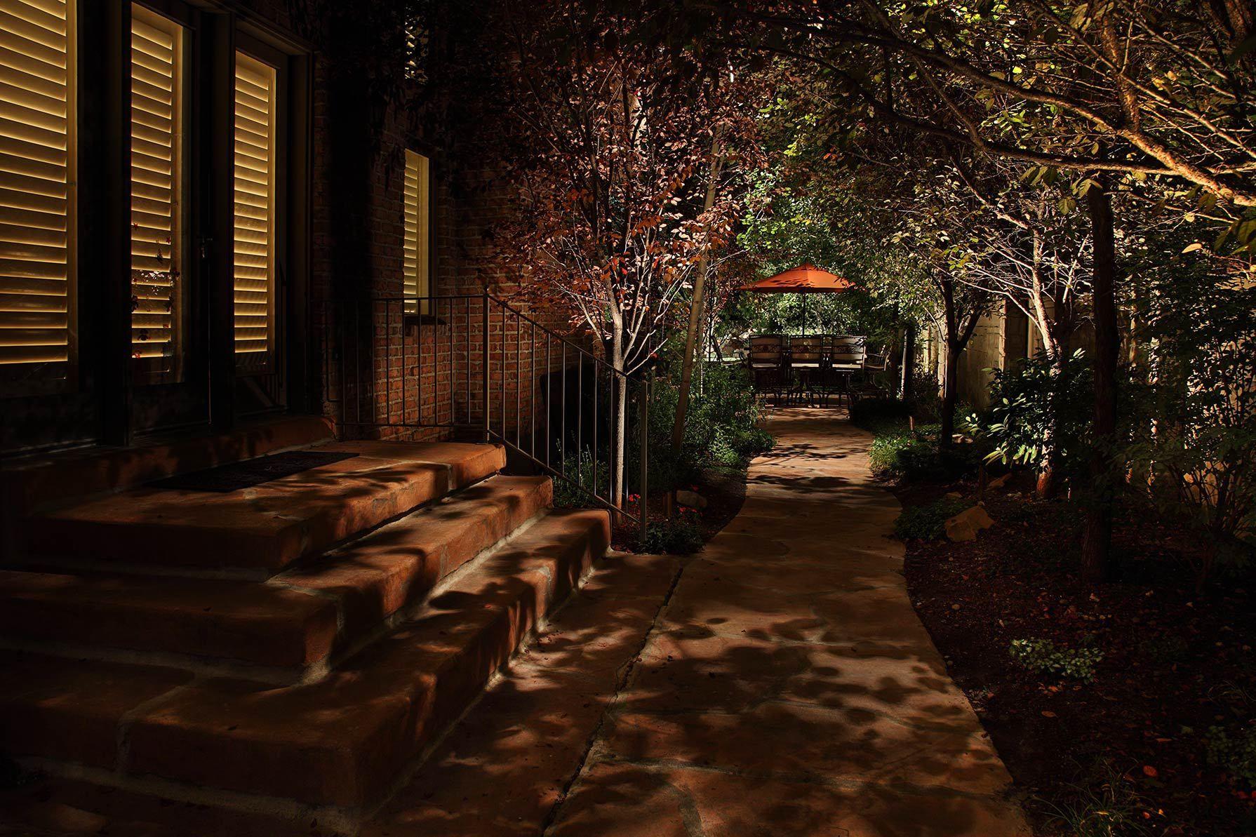 Residential Outdoor Security Lighting Down Lighting Sandy Utah Jpg Outdoor Pathway Lighting Landscape Lighting Step Lighting