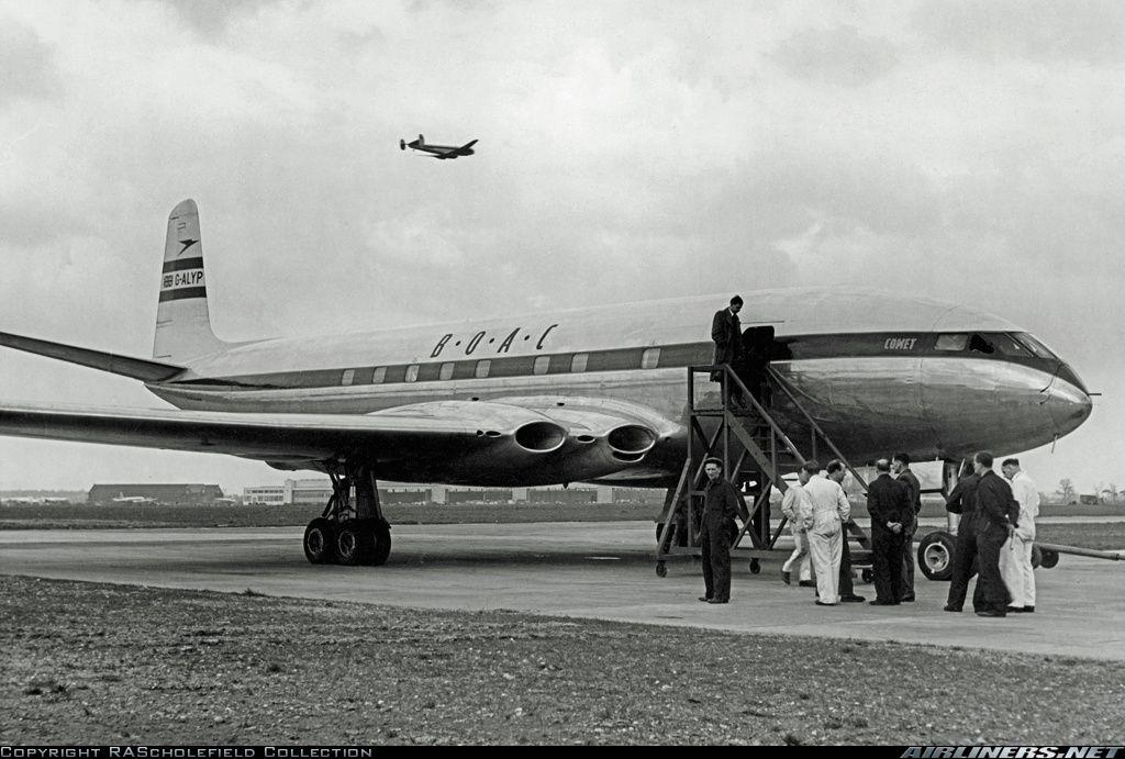 B.O.A.C. De havilland comet, De havilland, British airline