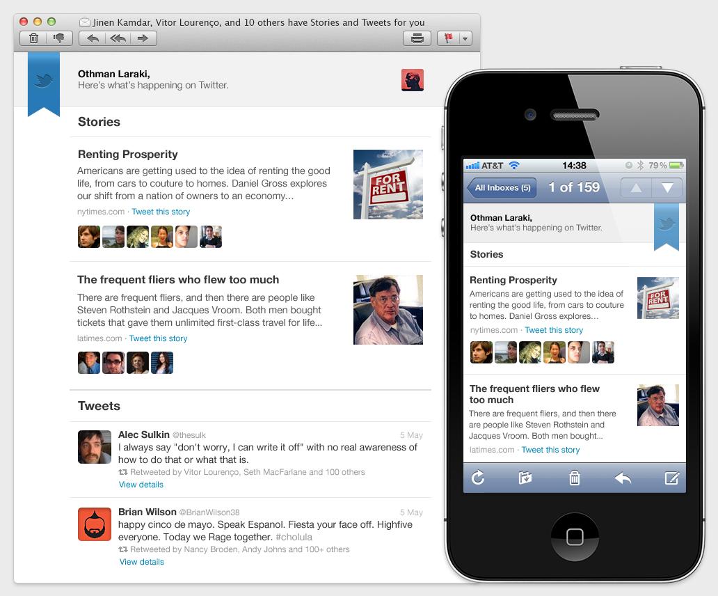 Twitter enviaría un resumen semanal con tuits de los usuarios al correo electrónico