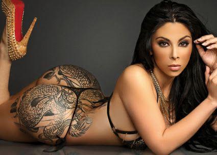 Tattoo Erotic girl