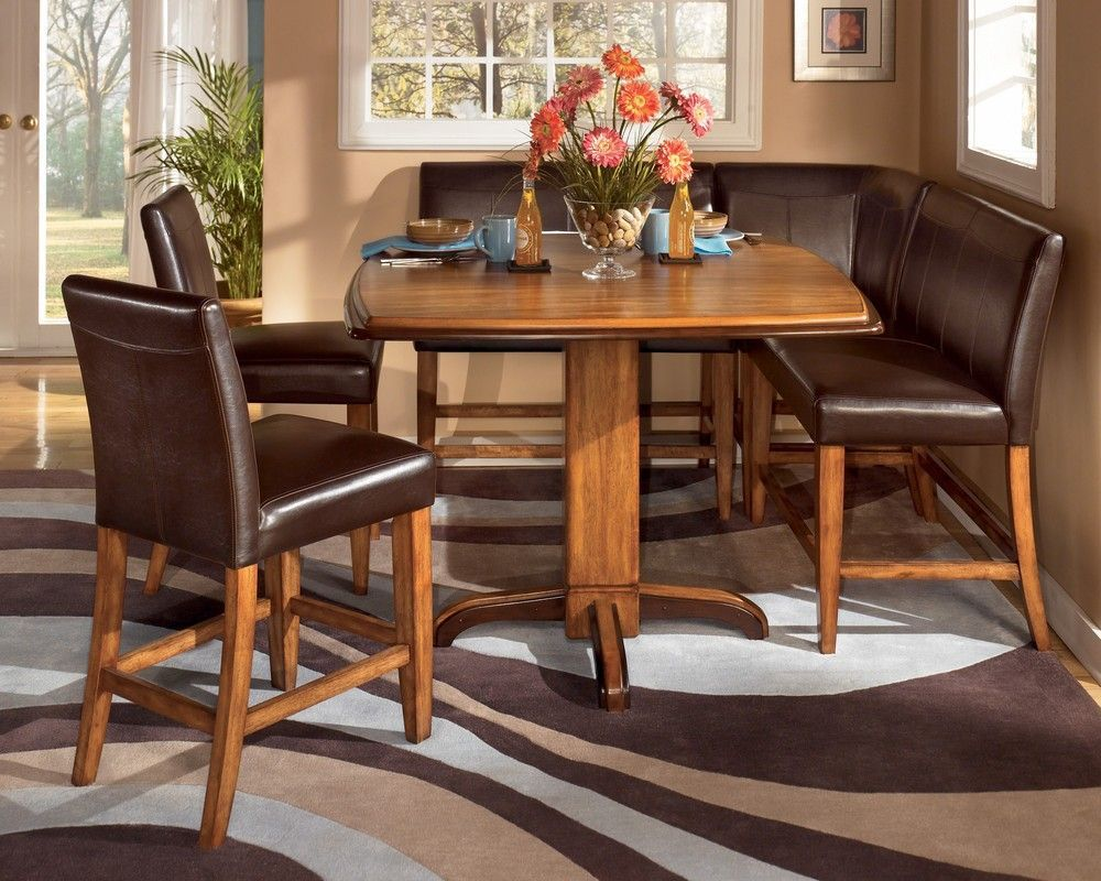 Amazing Booth Style Kitchen Table Sets