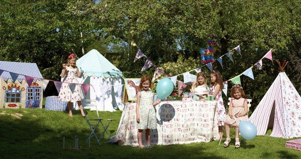 Kids Garden Party Ideas Tents and bunting kids summer tea party theme pinterest kids kid garden workwithnaturefo