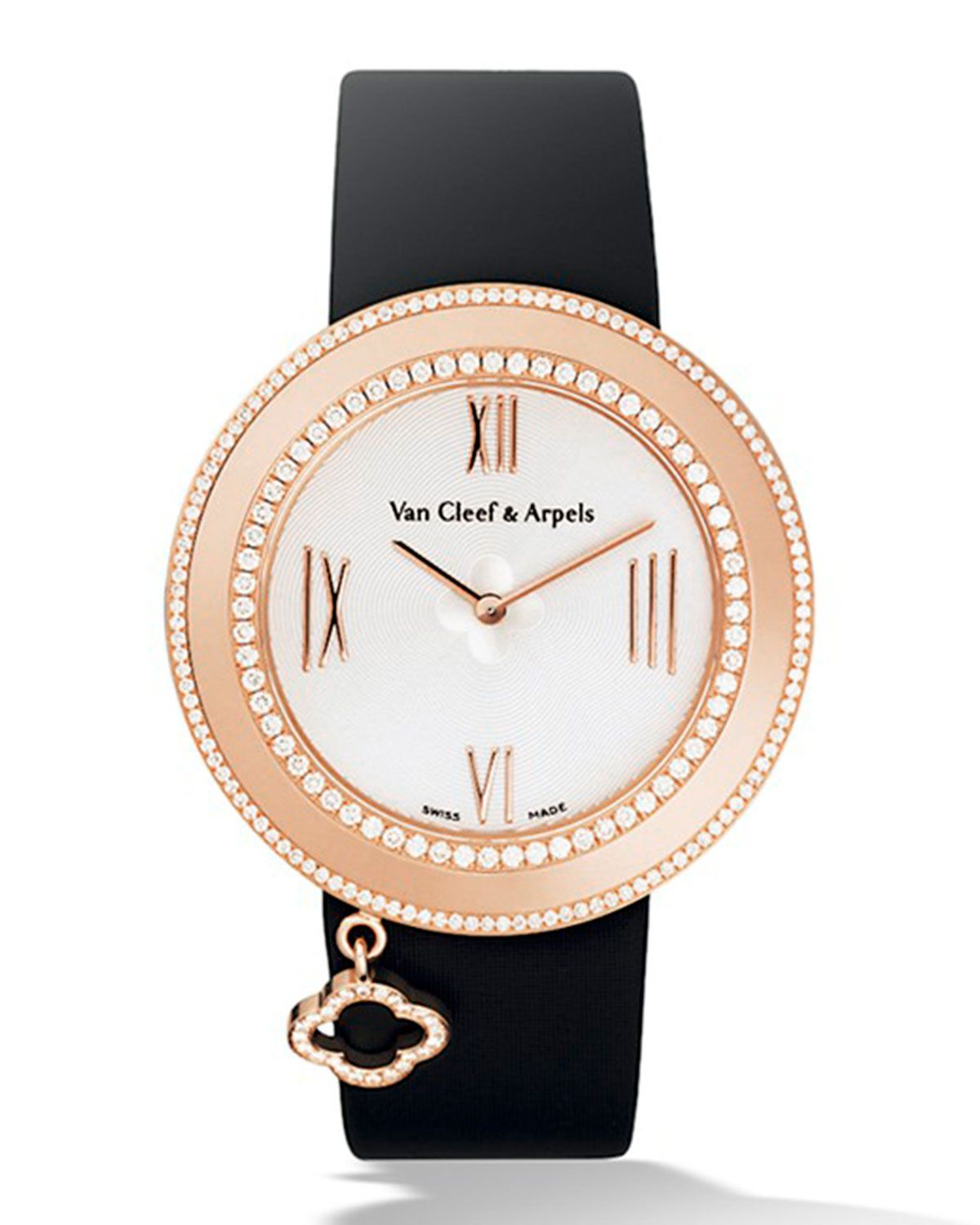 Pink Gold Charms Watch with Diamonds 0a9f57f29cb