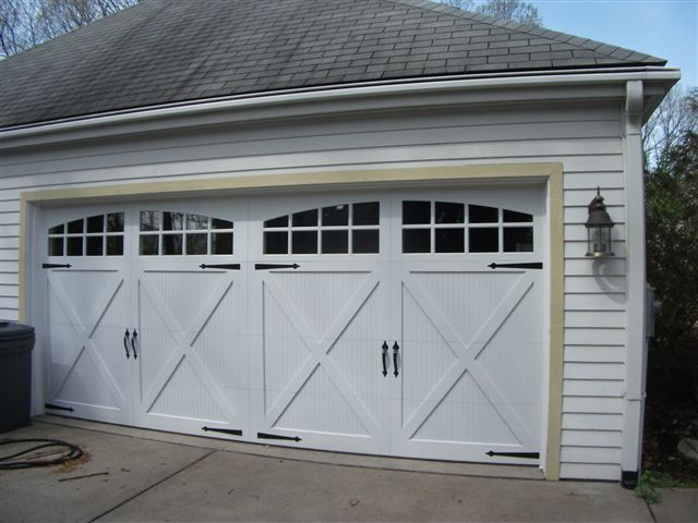 This An After Photo Of A Chi Carriage House Overlay 5834 Garage Door