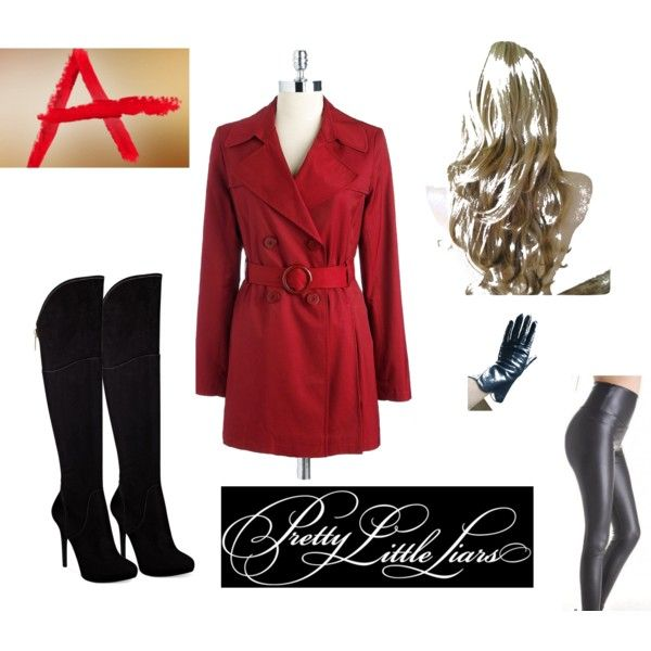 Red Coat Halloween Costume- Pretty Little Liars