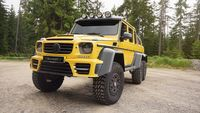 Mansory 829HP tuning package for Mercedes G63 AMG 6x6, delivers extra 300HP