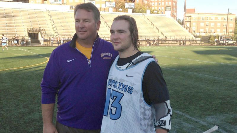 Kyle Marr Carries On Family Tradition At Johns Hopkins With