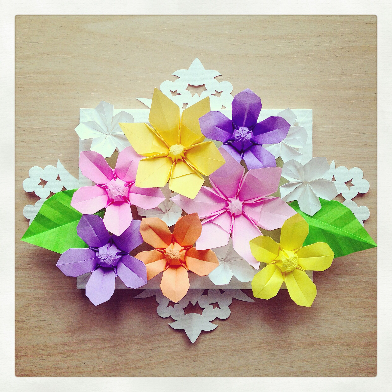 Origami Flower Photo Frame Siteframes
