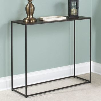 249 Tfg Tfg Urban Console Table Overall Height Top To Bottom 29 Inches Overall Width Side With Images Modern Console Tables Console Table Contemporary Console Table