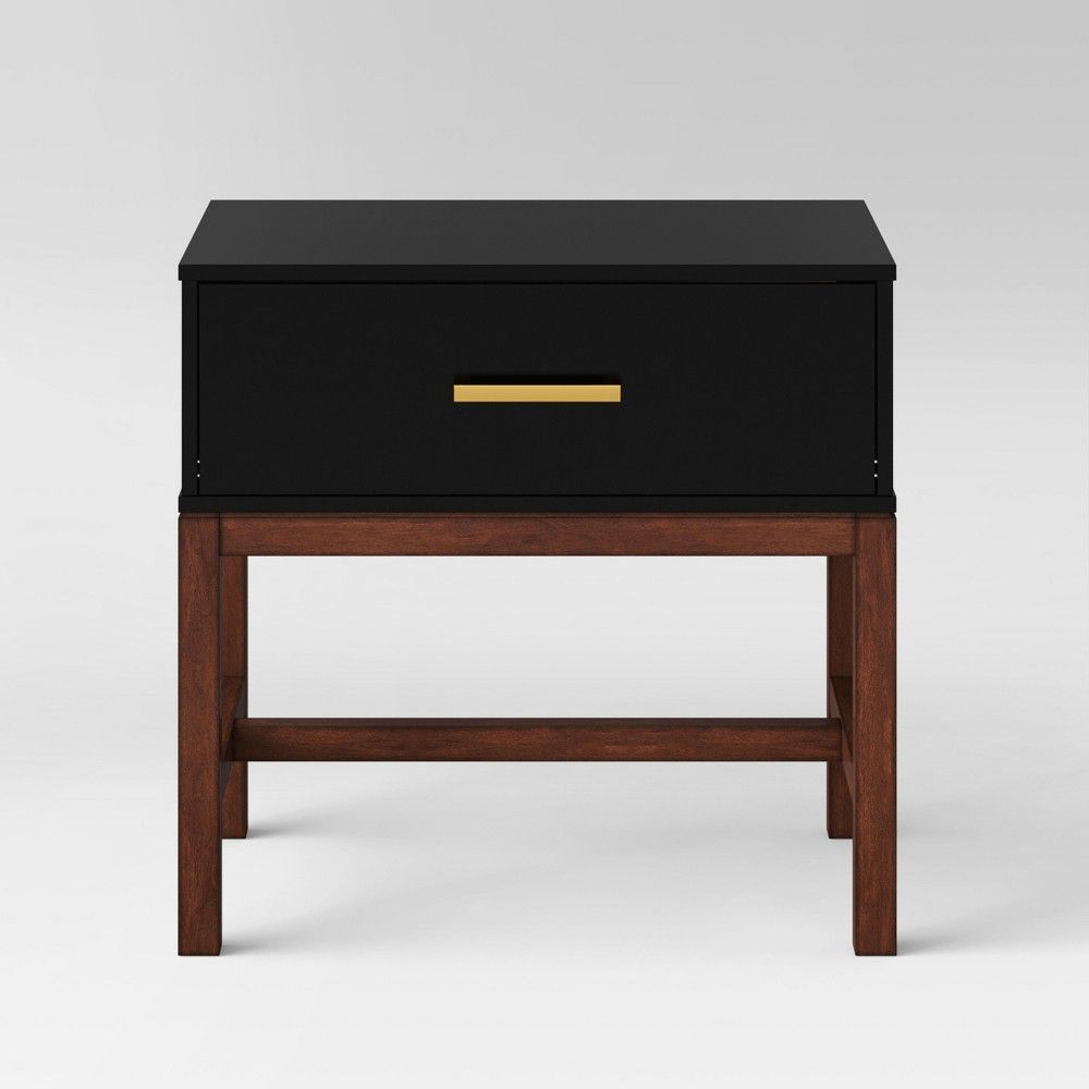 Guthrie Two Tone Nightstand Project 62 Modern Nightstand Mid Century Modern Nightstand Nightstand