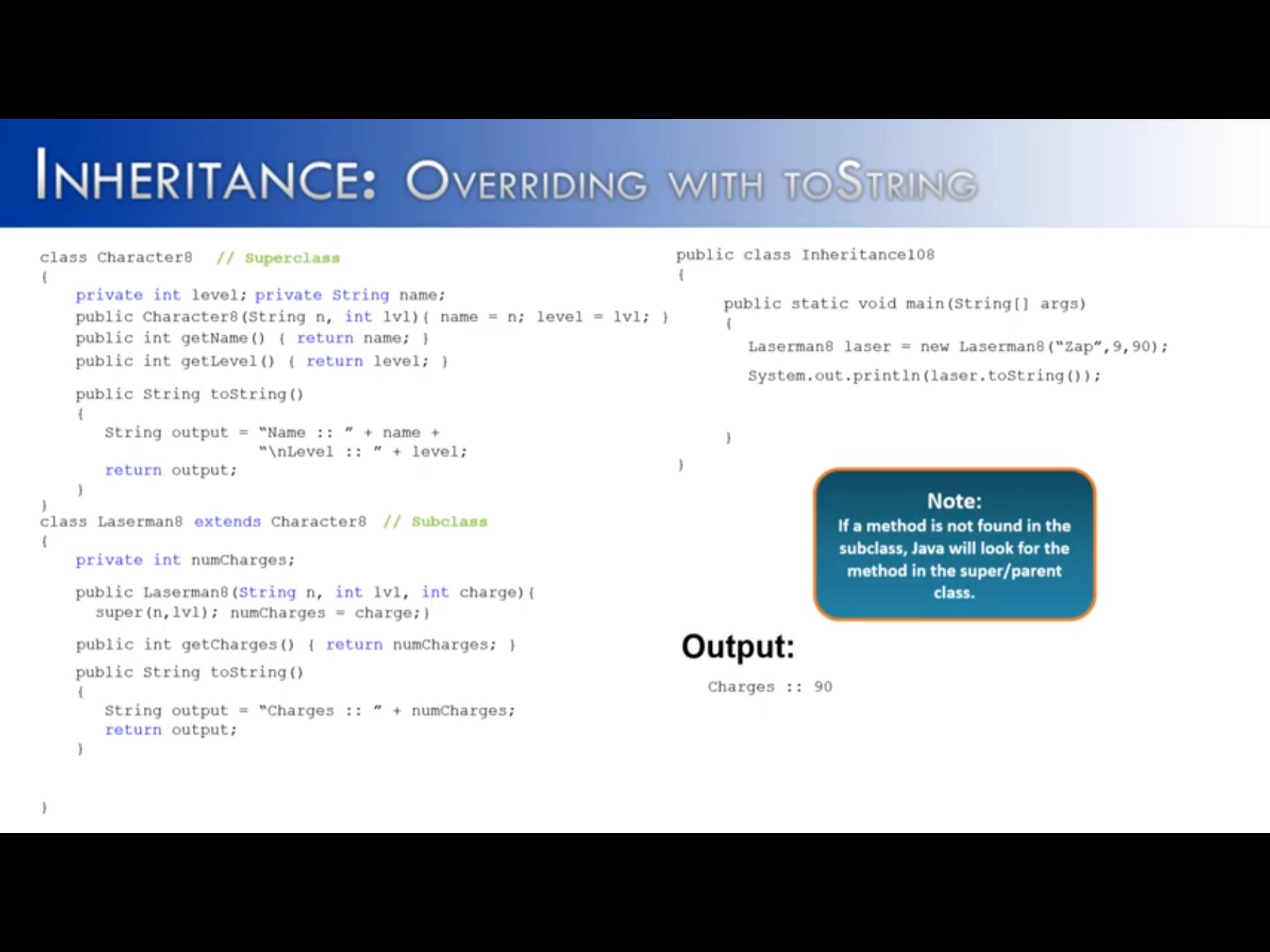 Pin by V on 3c1 Java Core (inheritance) Inheritance, Zap