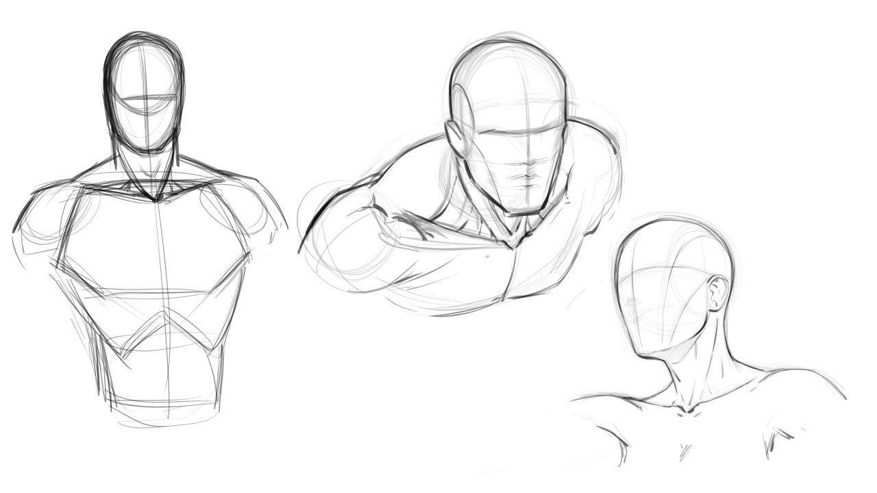 How To Draw Comics Attaching The Head To The Torso Comic Style Art Comic Book Drawing Comic Book Art Style