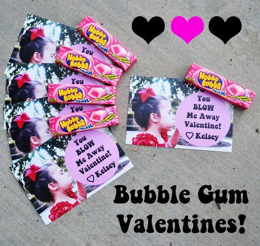 Bubble Gum Valentines!