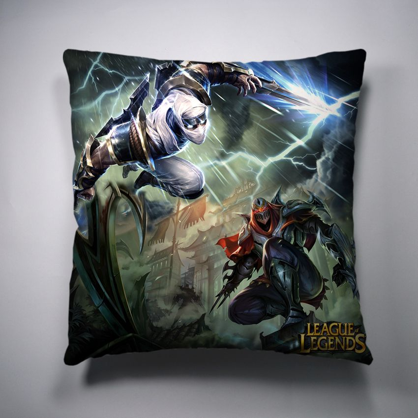 Zed League Of Legends Decorative Throw Pillow