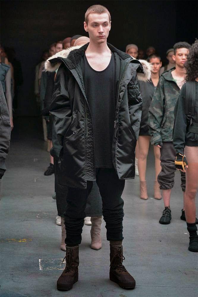 innovative design 0f64d cd658 Kanye West Adidas Originals Fall Winter 2015 Pantalones Tipo Cargo, Moda  Masculina, Estilo,