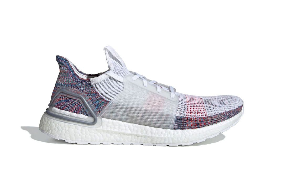 reputable site 073a7 3e705 adidas UltraBOOST 2019 19 Multicolor Release Info sneaker runner shoe buy  180 usd