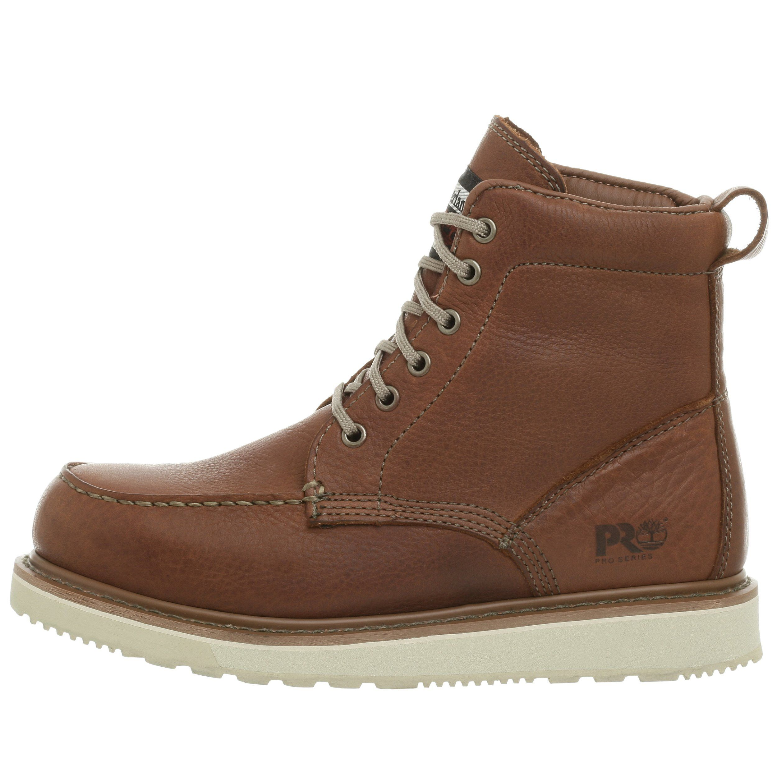d0d7653a314 Amazon.com: Timberland PRO Men's Wedge Sole Six-Inch Boot: Clothing ...