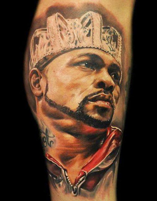 Realistic Portraits Tattoo by Max Pniewski | Tattoo No. 12572