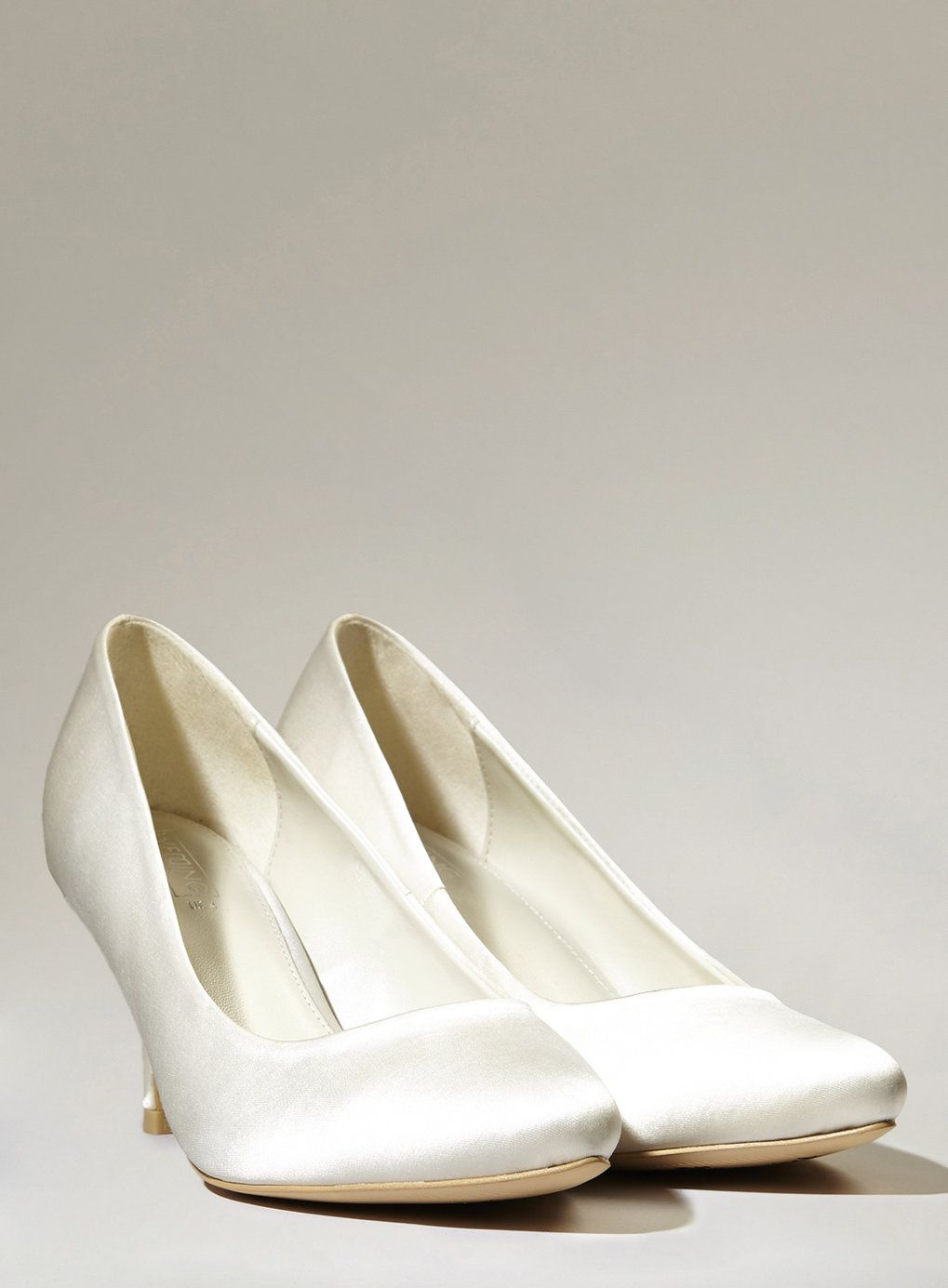 083ea25437a These classic court shoes have memory foam padded insoles to ensure you re  comfortable on your feet all-day long. £30.  BHSBride  Wedding  Bridal   Bride ...
