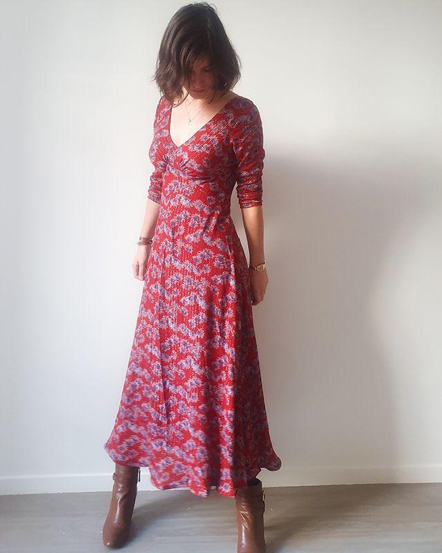 French Poetry | Robe Lune | Acheter le patron de couture en ligne