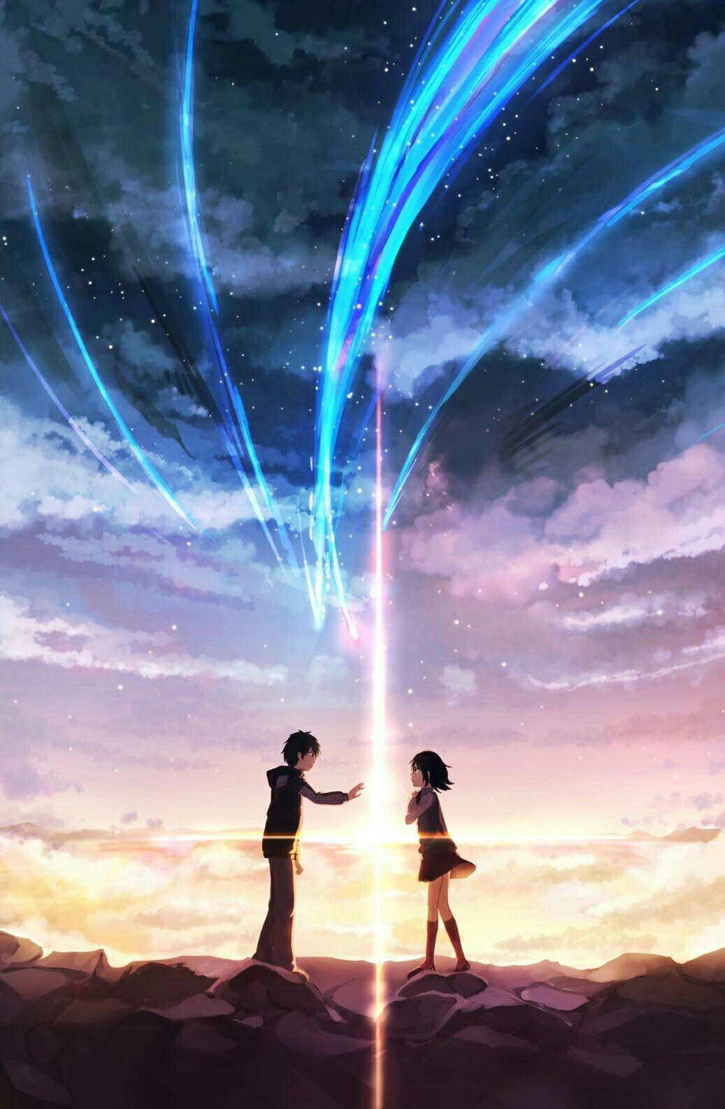 Kimi no nawa Pemandangan anime, Pemandangan, Pemandangan