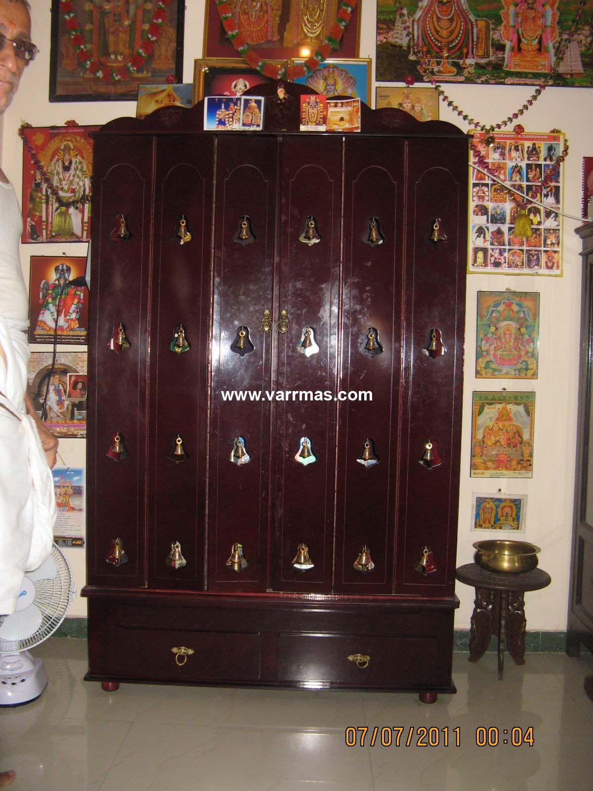 Cabinets Pooja Rooms Closed Modular Type Pooja Rooms