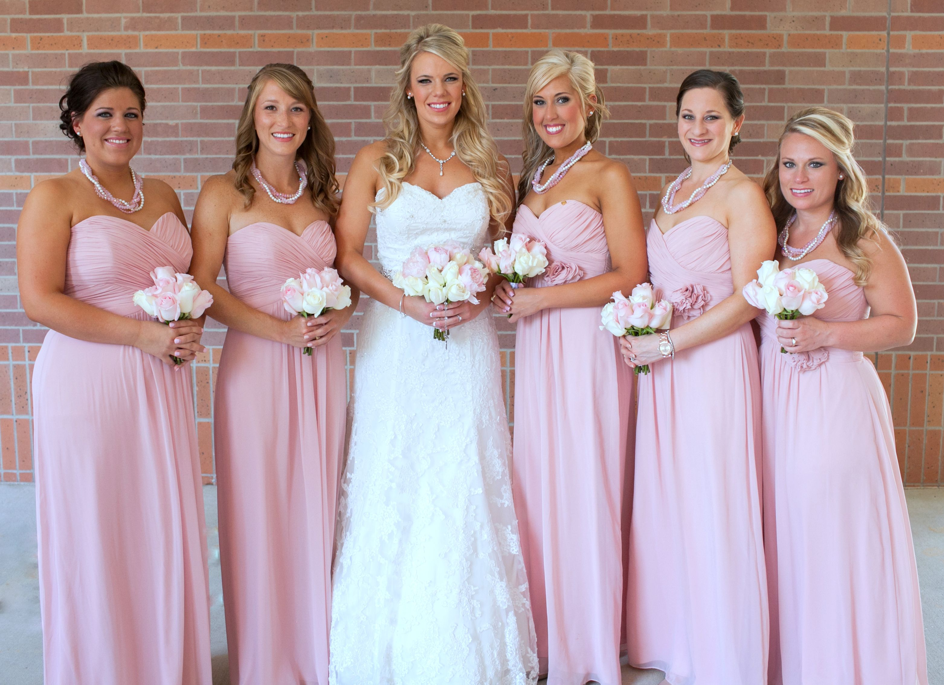 Softpalelight pink bridesmaid dresses my military wedding softpalelight pink bridesmaid dresses ombrellifo Gallery