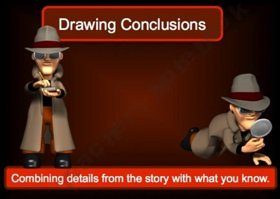 Drawing Conclusions Power Point Lesson Edu Lang Arts
