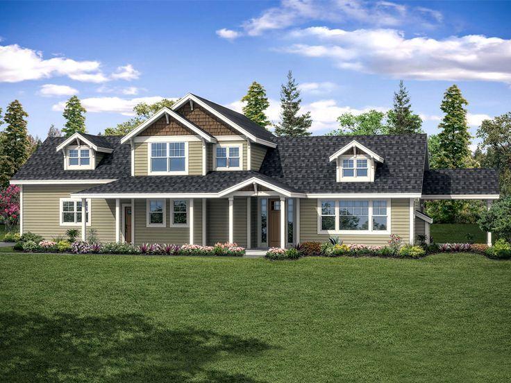 051H0270 FamilyFriendly TwoStory House Plan; 1935 sf