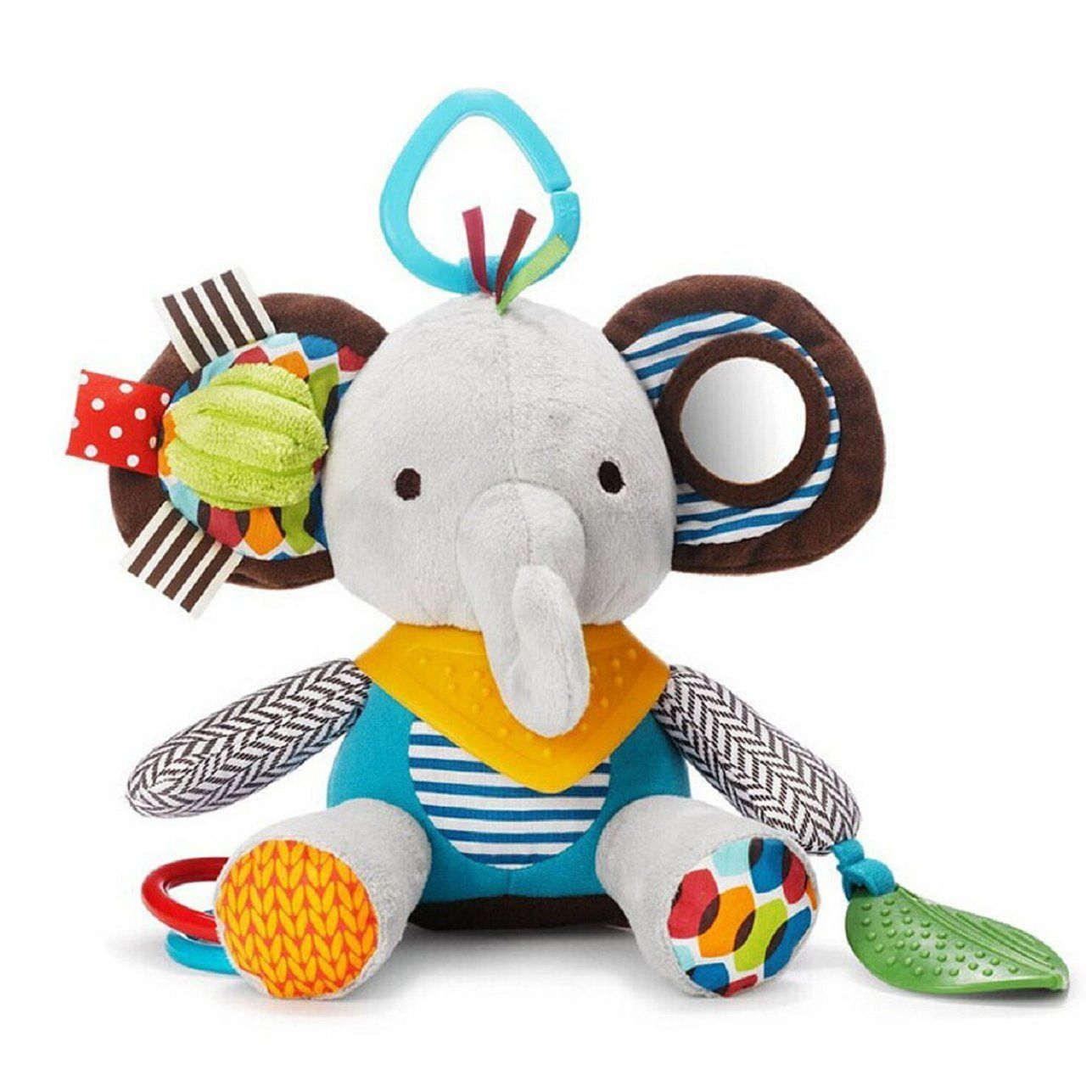 Car hanging soft toys  Amazon Sandistore Baby Kids Car Rattle Multicolor Bed Hanging