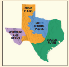 Regions Of Texas Map 4th Grade.4th Grade Four Texas Regions Research 4th Grade Social