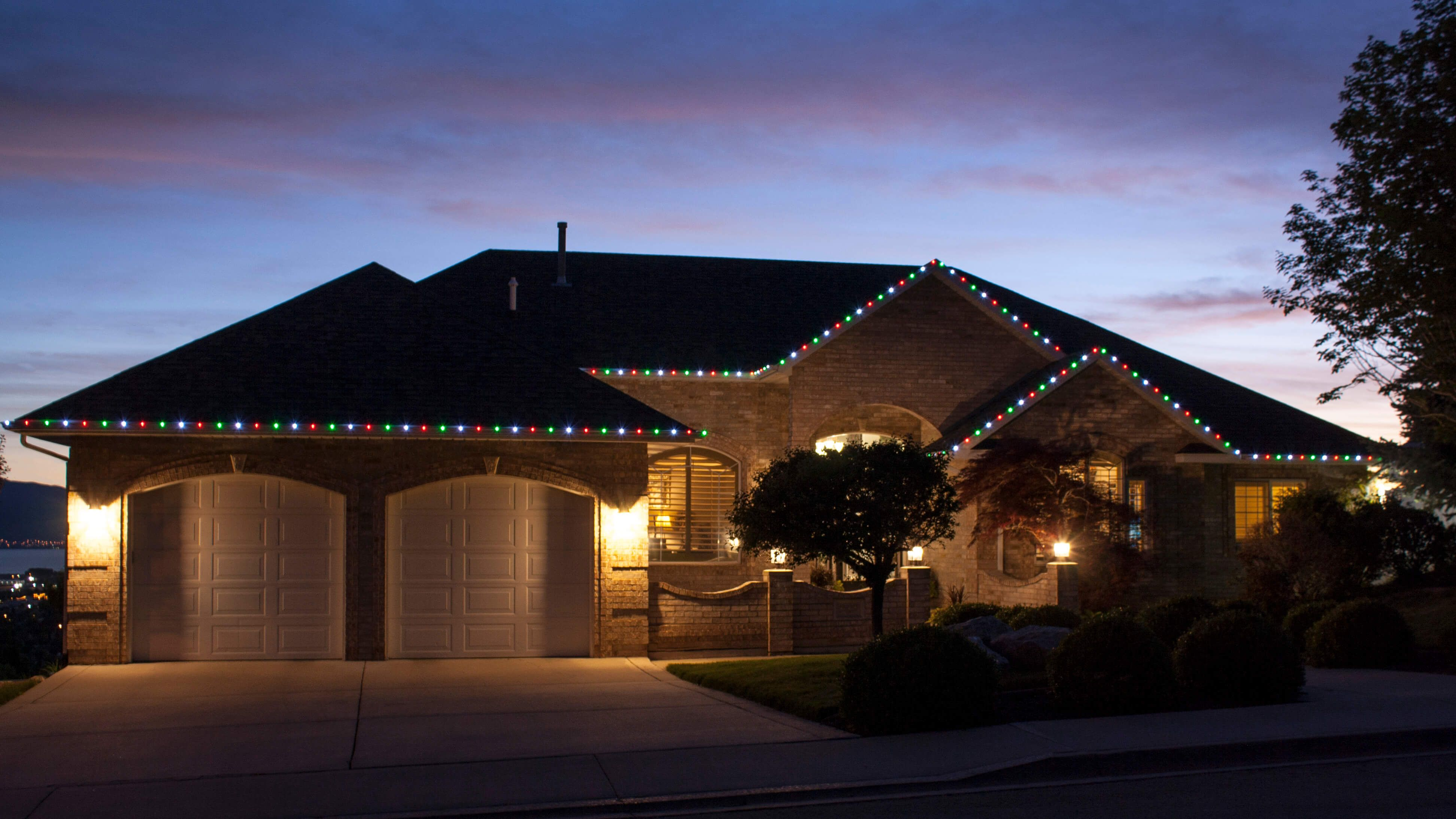 Permanent Christmas Lights.Everlights Fully Customizable And Permanent Lights For