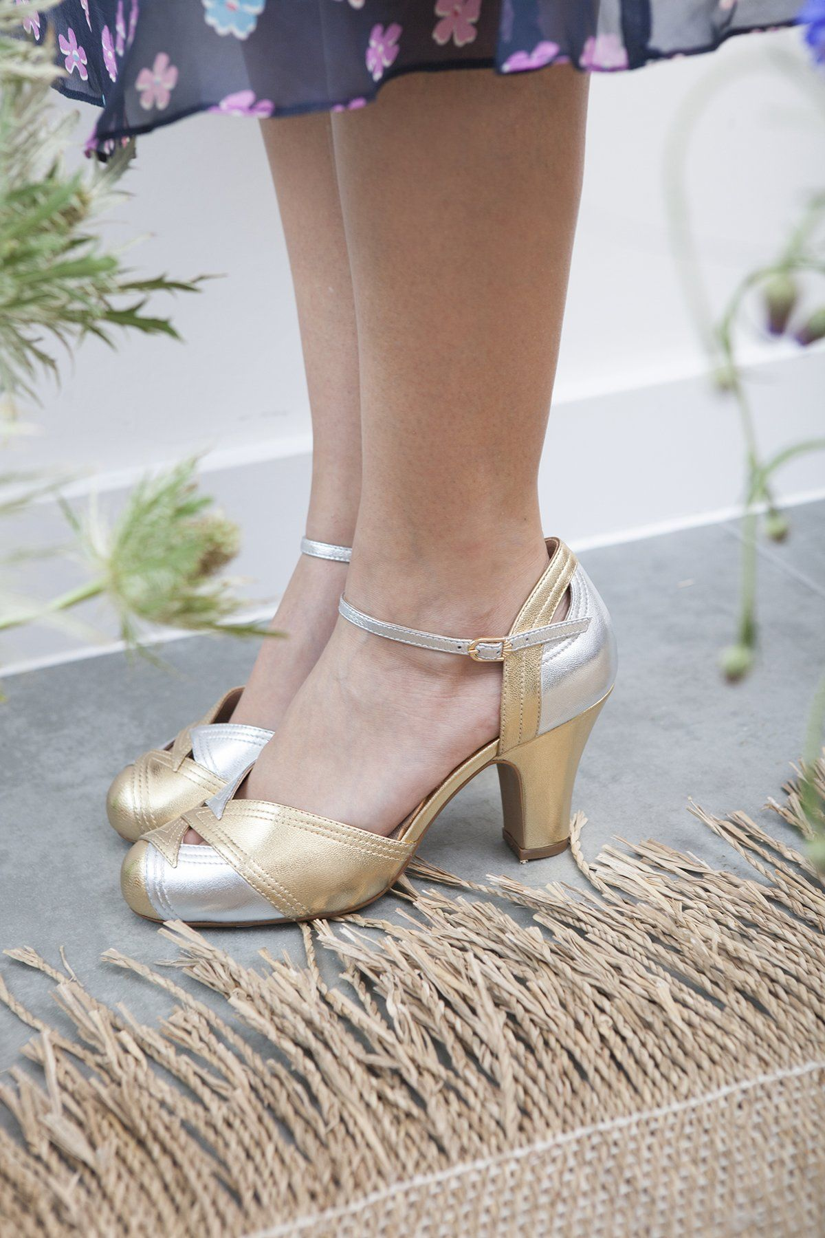 2144bd421f Shoes and accessories, limited edition only. Grace gold and pewter – Miss L  Fire Ltd