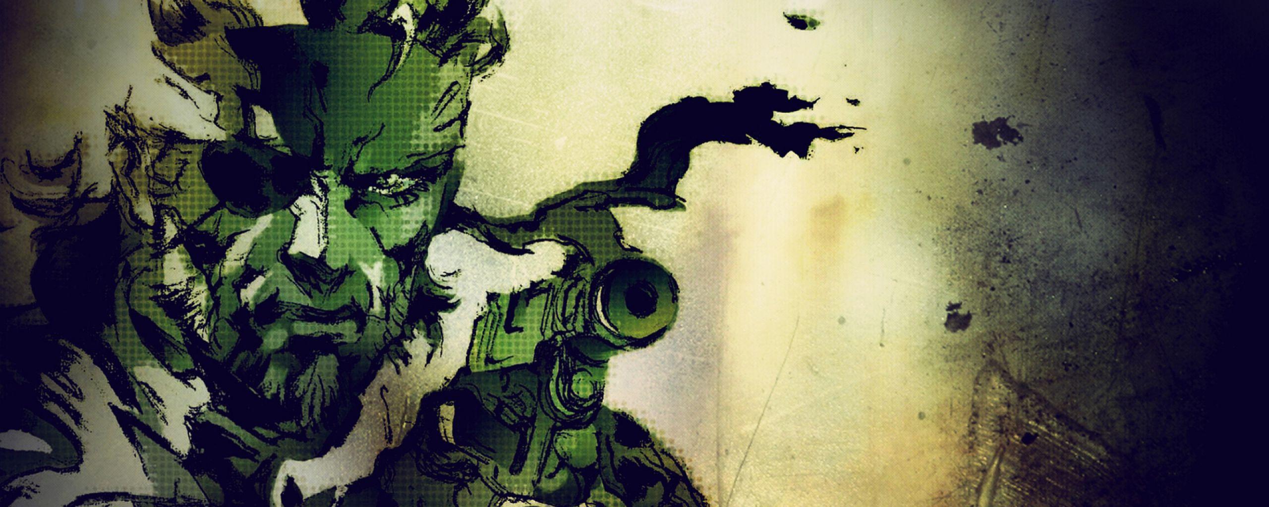 Dual Monitor Resolution Metal Gear Solid Wallpapers Hd Desktop