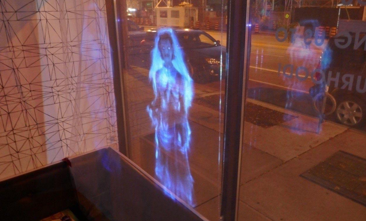 Ghost Projector Halloween Window Decoration
