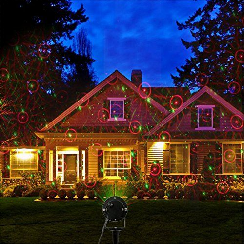 Itimo ip65 waterproof laser christmas lights led laser light projector garden laser light for holiday house