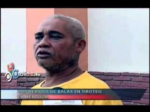 Dos heridos de balas en tiroteo en mendoza #Video - Cachicha.com