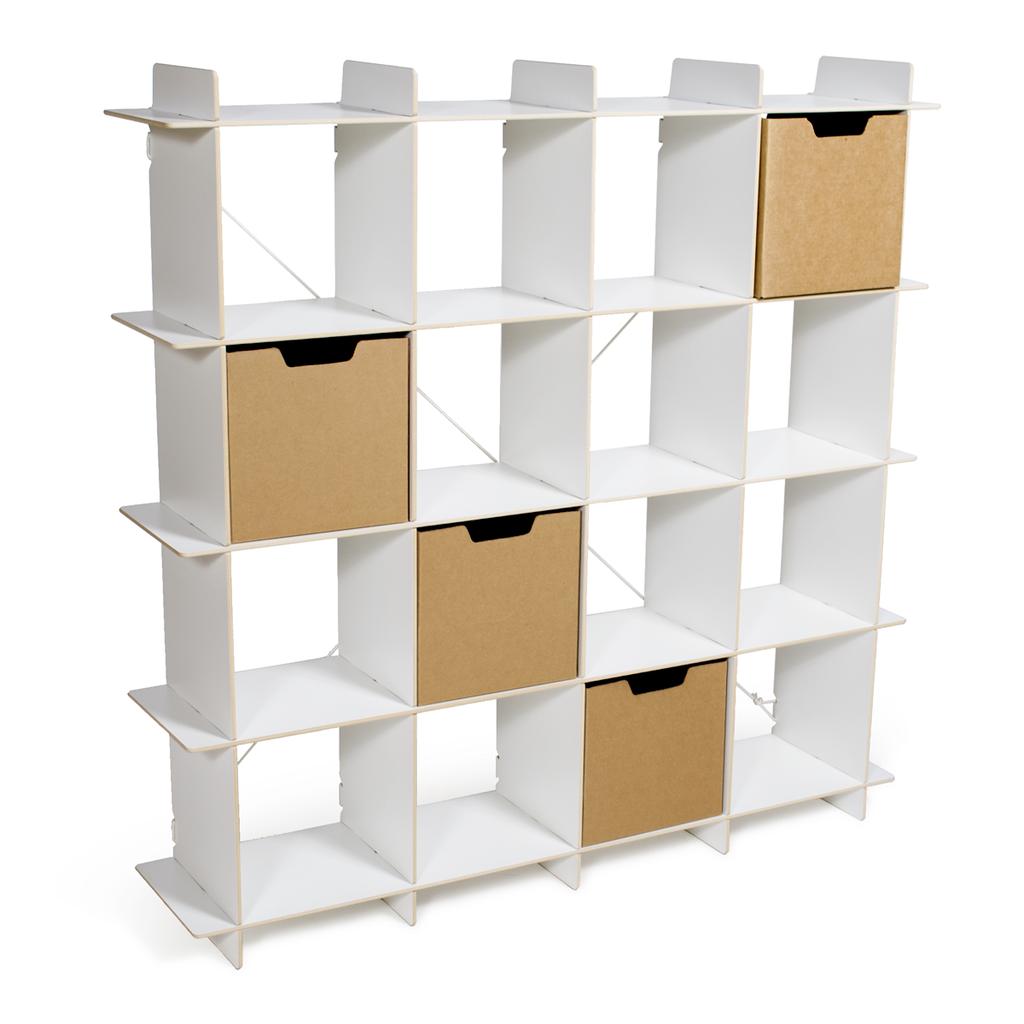 Gridlock Cube Shelves U0026 Bins