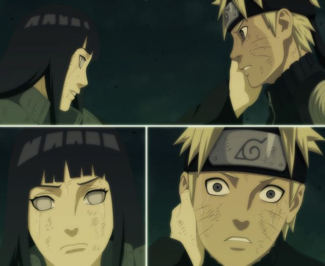 Image result for naruto and hinata holding hands
