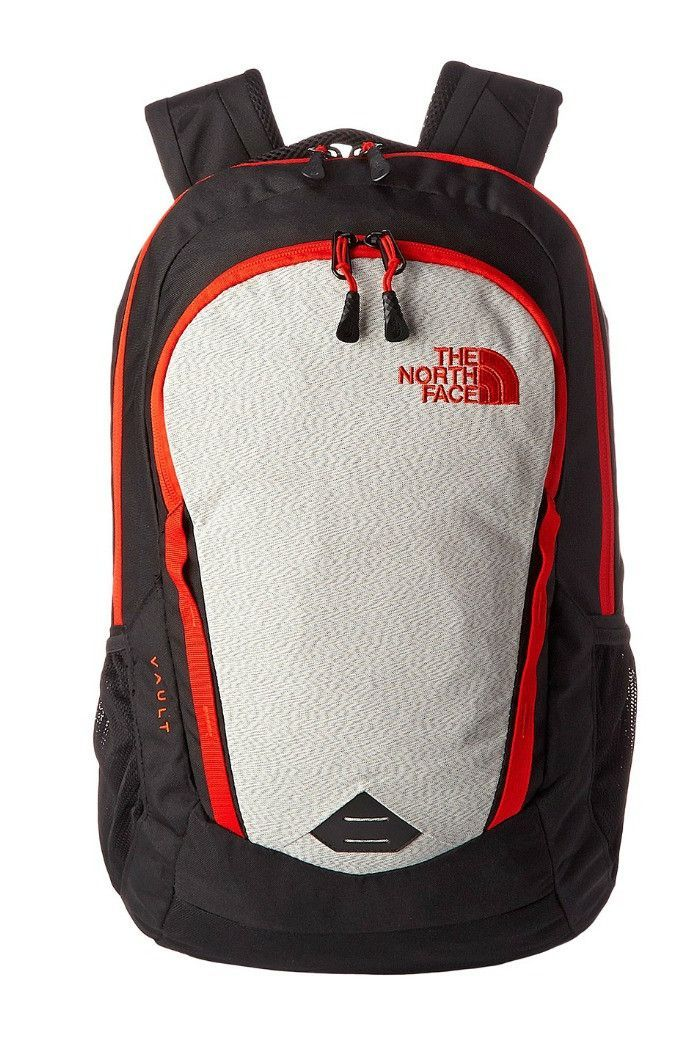 a2ecde86b7 The North Face - Vault Backpack - TNF Black/Fiery Red | The North ...